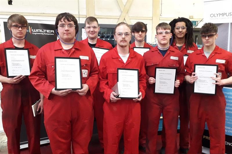 Walter trained eight apprentices at Olympus