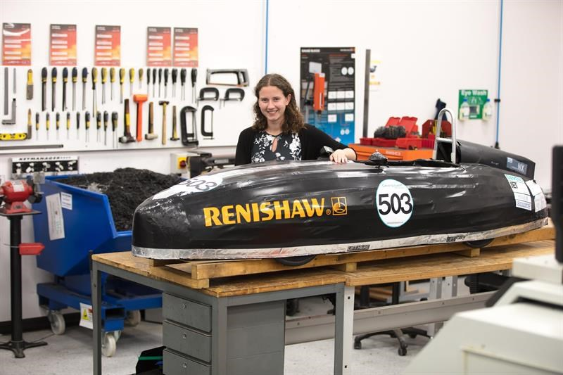 Some 33% of Renishaw's STEM ambassadors are female