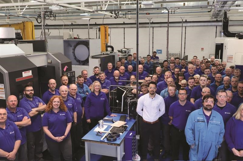 Castle Precision Engineering's workforce