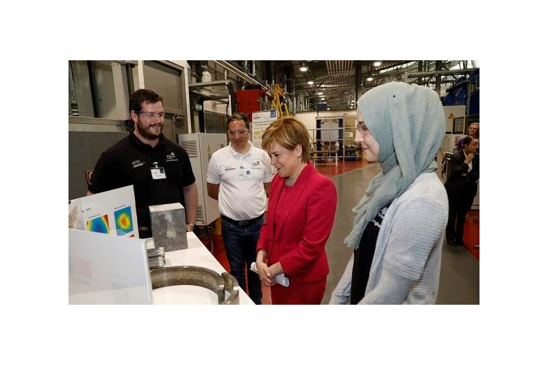 Nicola Sturgeon at the LMC