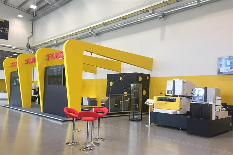 Inside the FANUC UK headquarters