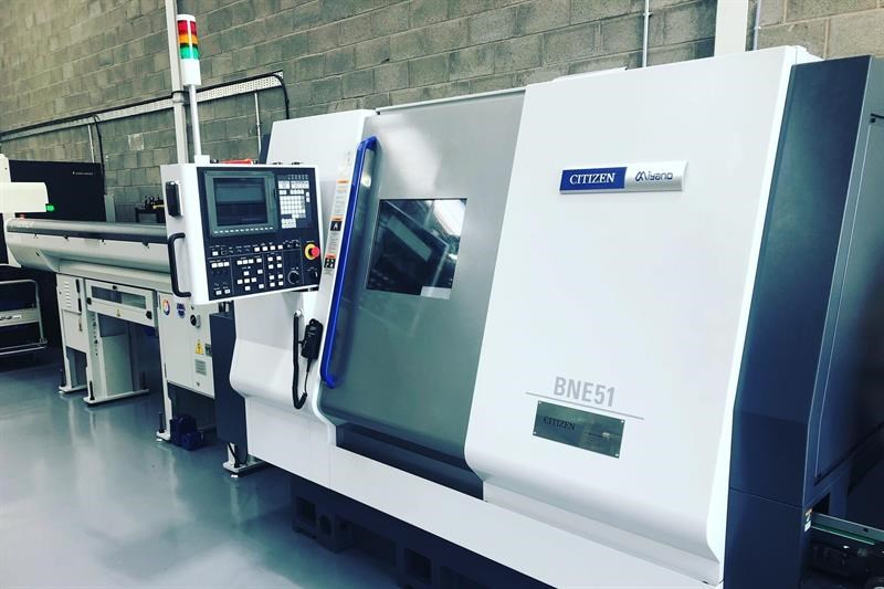 The Miyano CNC turning centre at GWR Fasteners