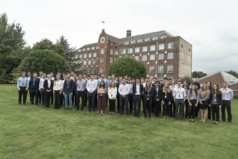 12 graduate schemes are offered by Renishaw