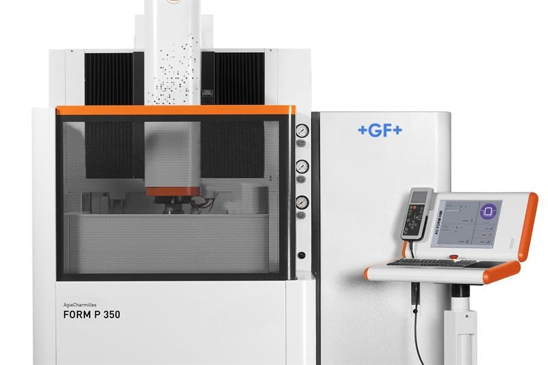 The GFMS Form P 350 die-sink EDM