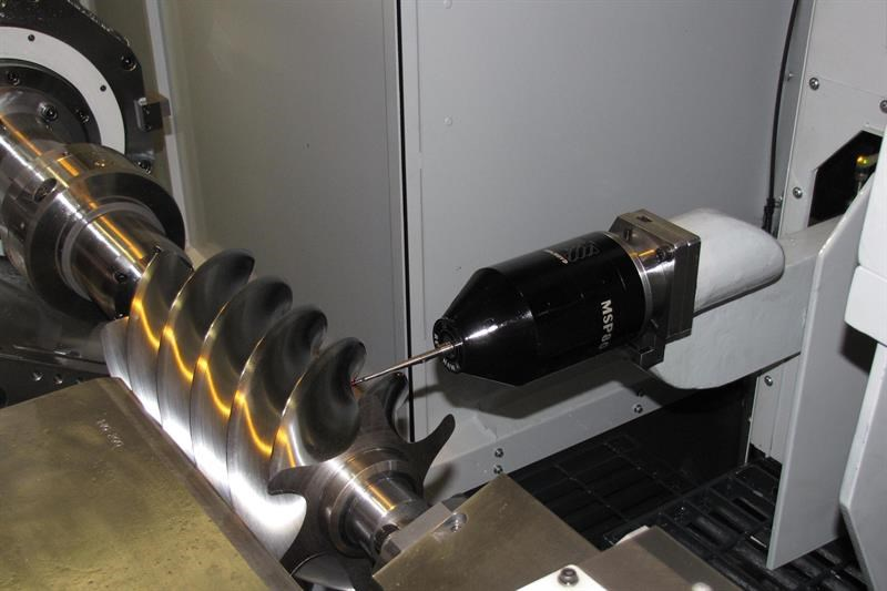 TG350E with fully automated on-machine probing