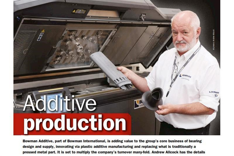 Additive production at Bowman International