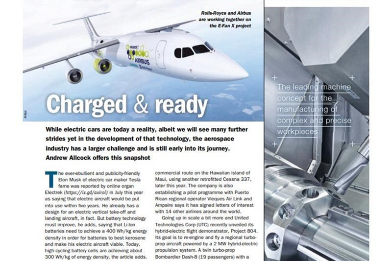 Charged & ready - electric air travel