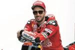 Moto GP racer Andrea Dovizioso