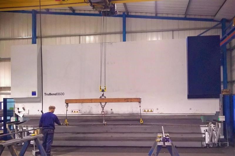 The Trumpf TruBend 8600-80 at Thompsons