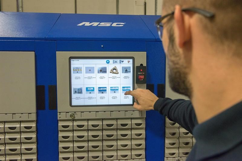 MSC's vending machines will be on display