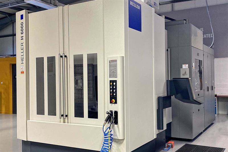 The Heller H6000 machining centre
