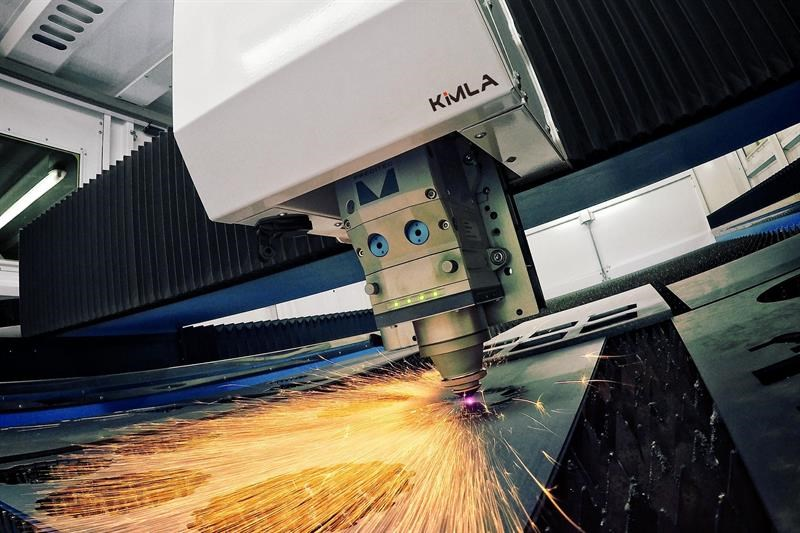 Kimla laser profiler and waterjet machines