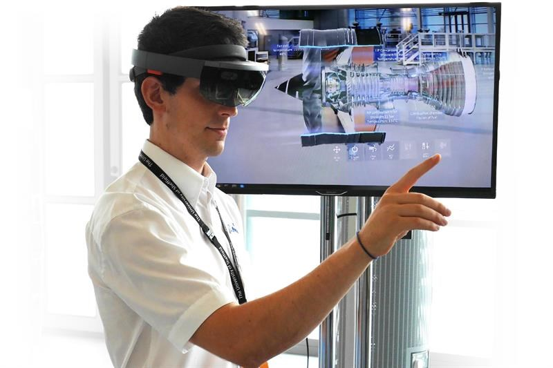 Ventilator manufacturing aided by HoloLens