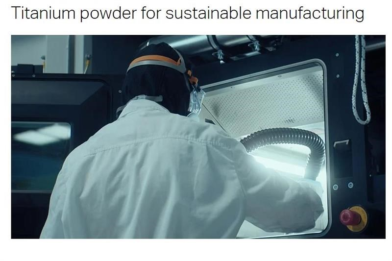 Sandvik additive manufacturing