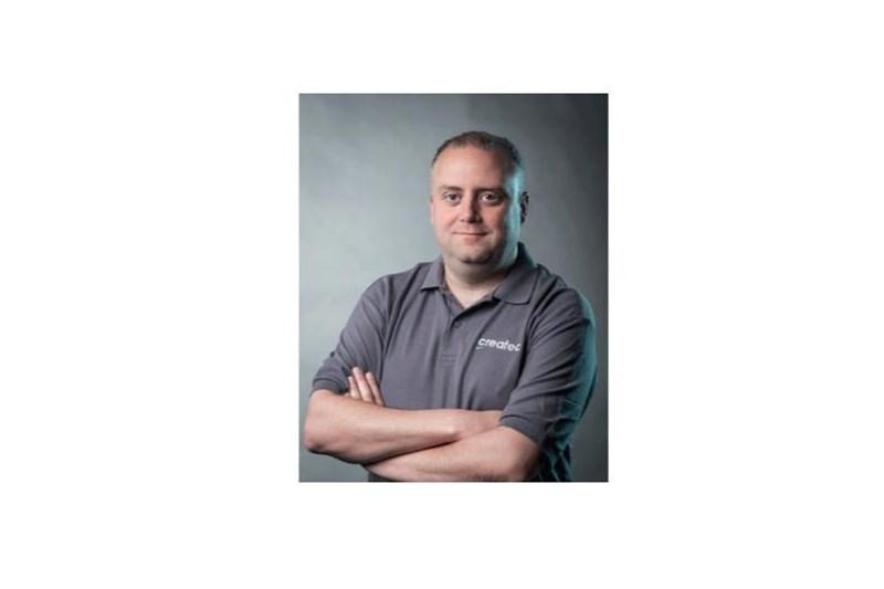 David Clark, operations director for Createc