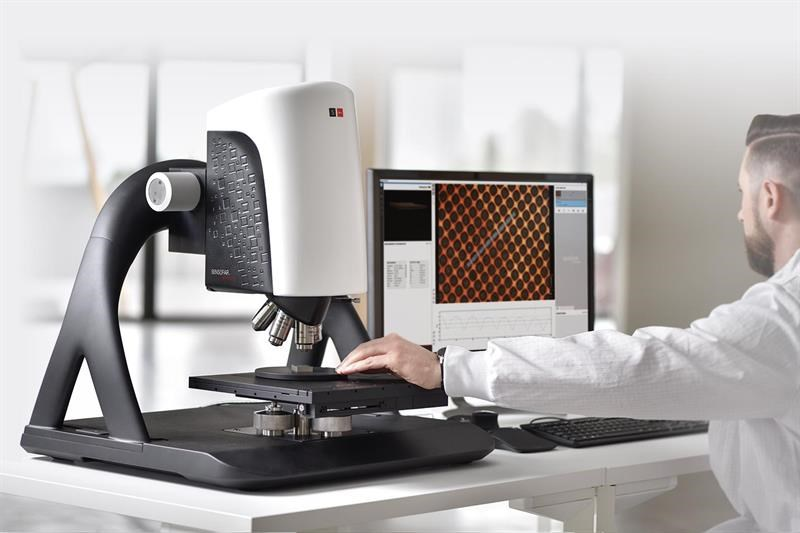 Optical profiler microscope