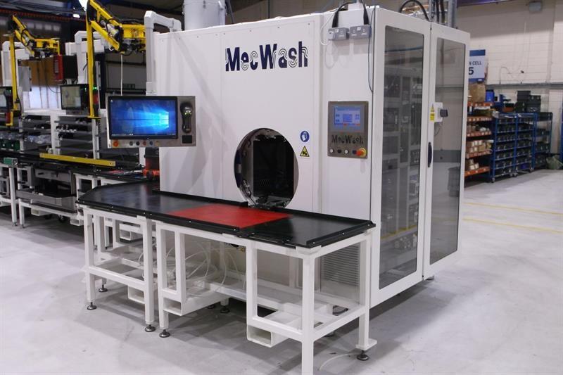 MecWash MWX400 at HUSCO