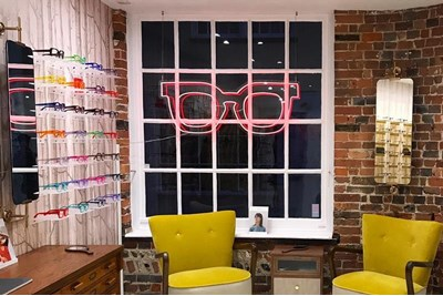 Interior of ?Taylor-West & Co Optometrists, Lewes