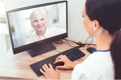 A virtual consultation