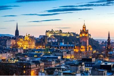 Edinburgh in the evening