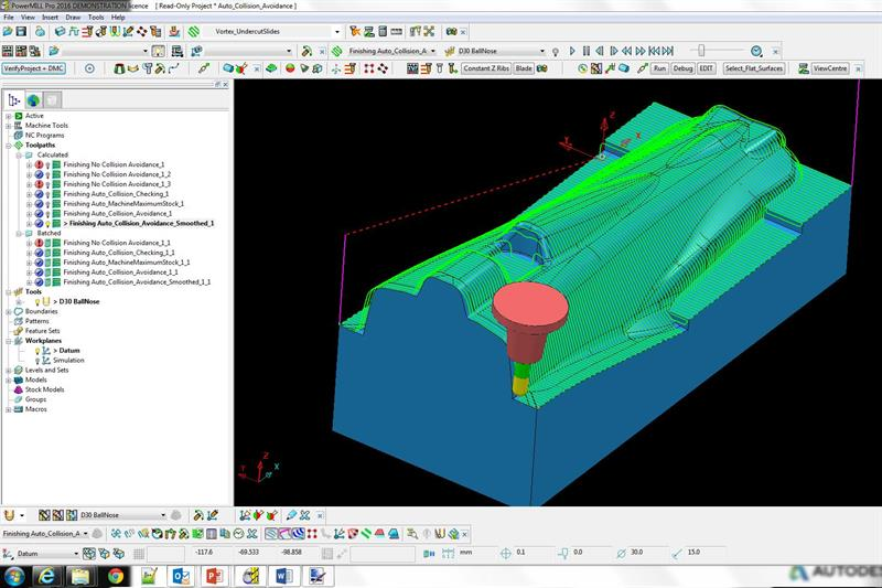 Machinery - Delcam PowerMILL 5-axis programming tips and tricks