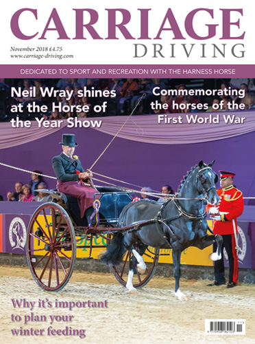 November 2018 Issue - Neil Wray shines at the Horse of the Year Show