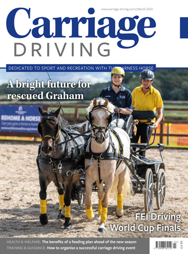 March 2020 Issue - A bright future for rescued Graham